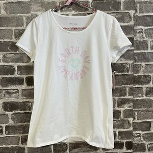 NWT Philosophy earth day everyday tee shirt top